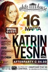 KATRIN VESNA (Msk) @ White House Bar